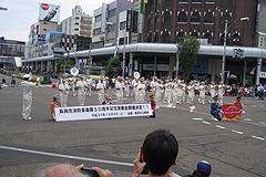 「長岡市消防音楽隊パレード」の画像