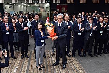 2016年10月17日 新長岡へ。磯田...